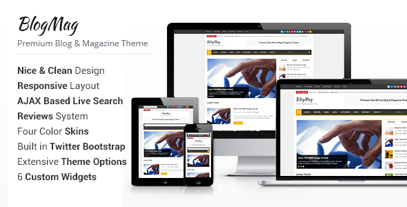 ThemeForest BlogMag WordPress Blog and Magazine Theme 4688770