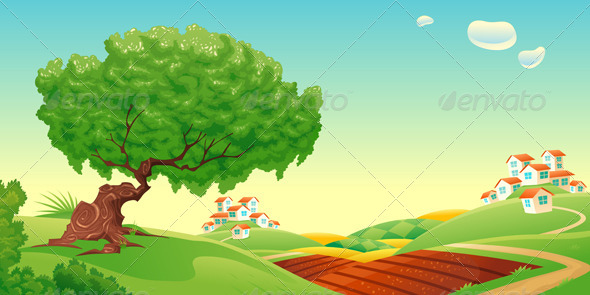 GraphicRiver Countryside 4729492