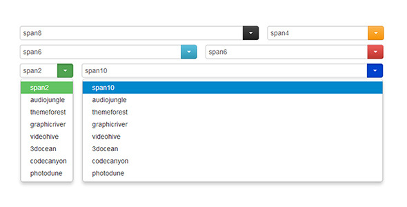 CodeCanyon Custom Select for Twitter Bootstrap 2 4711555