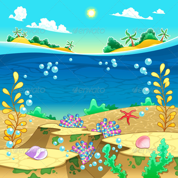 GraphicRiver Under the Sea 4729741