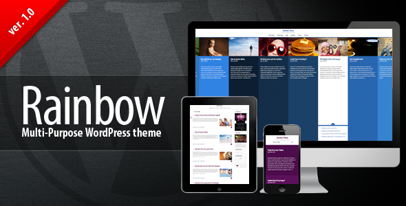 ThemeForest Rainbow WP Multi-purpose Premium Theme 4627786