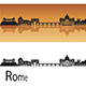 Rome Skyline - GraphicRiver Item for Sale