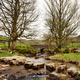 Stepping stones across Cray Gill, Yorkshire - PhotoDune Item for Sale