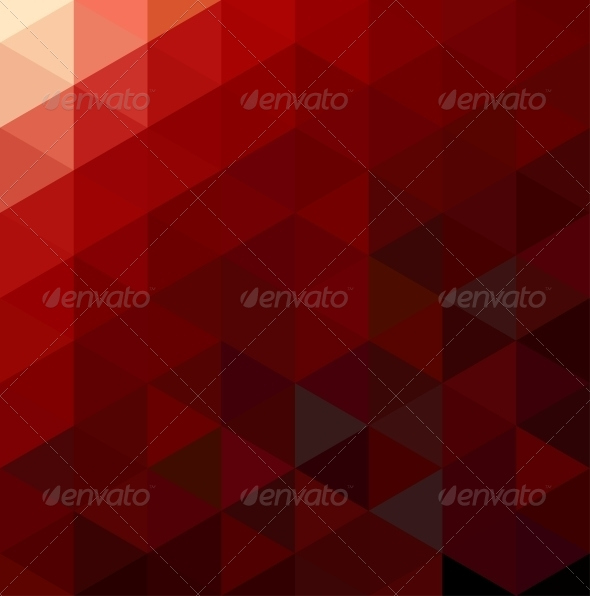 GraphicRiver Abstract Red Geometrical Background 4730323