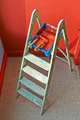 Ladder, roller brush, bucket - PhotoDune Item for Sale