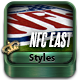 NFL Football Styles - NFC East - GraphicRiver Item for Sale