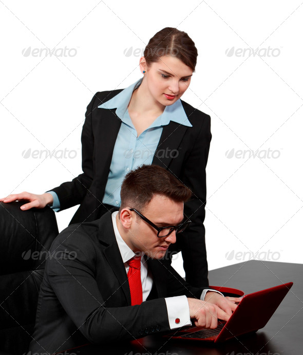 Business Couple  - Stock Photo - Images
