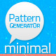 Minimal Patterns Generator - GraphicRiver Item for Sale