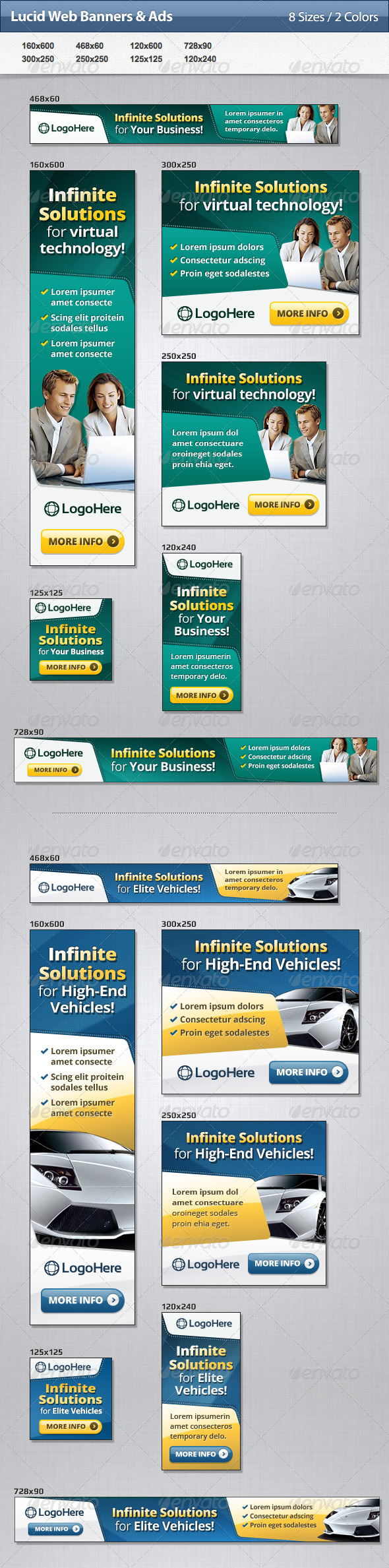 GraphicRiver Lucid Web Banners & Ads 4731334