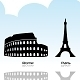 European Landmark - GraphicRiver Item for Sale