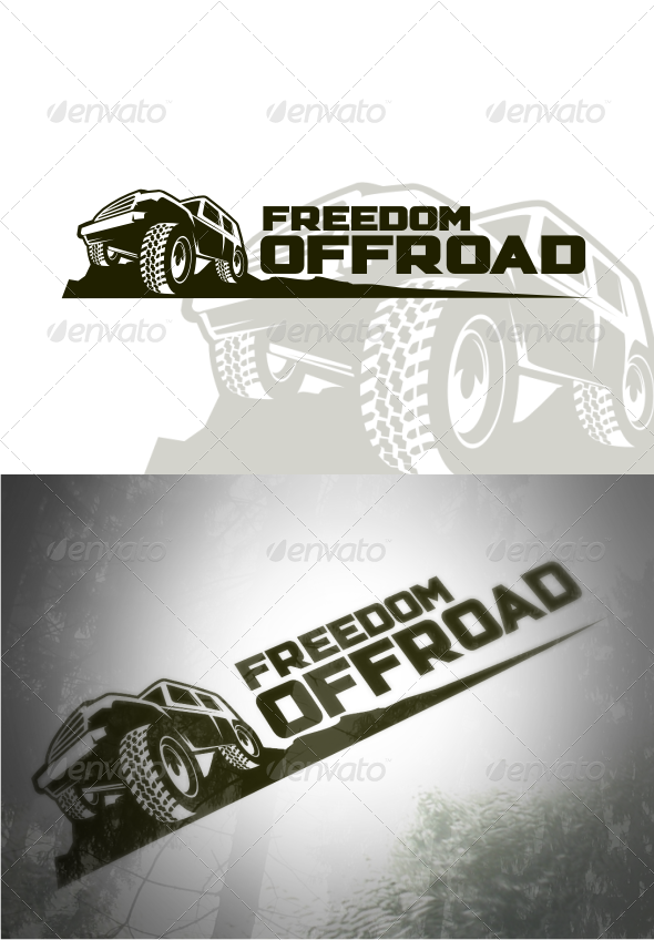 GraphicRiver Freedom Offroad Logo Templates 4652165