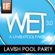 Wet 3.0 4x6 Simple Pool Party Flyer