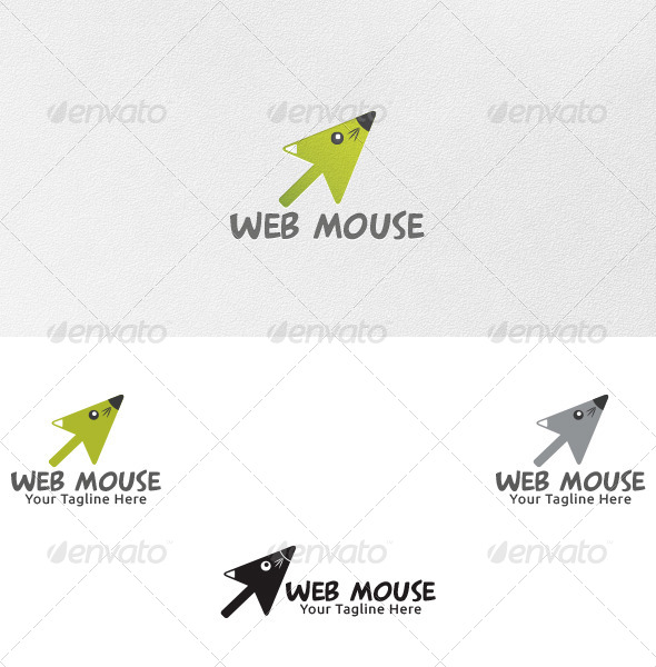 GraphicRiver Web Mouse Logo Template 4701997