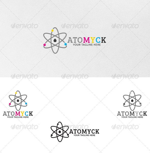 Atomyck Logo Template