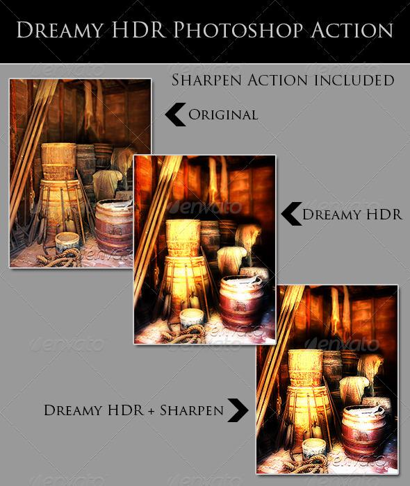 GraphicRiver Dreamy HDR 4732273