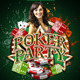 Poker Party Flyer Template - GraphicRiver Item for Sale