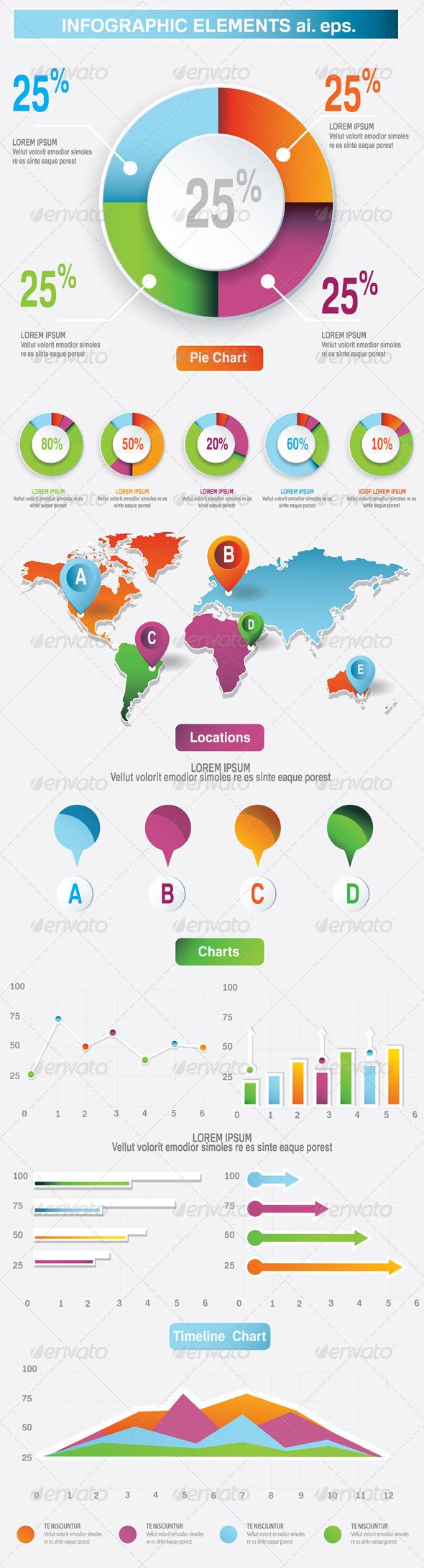 GraphicRiver Infographic Elements 4663552
