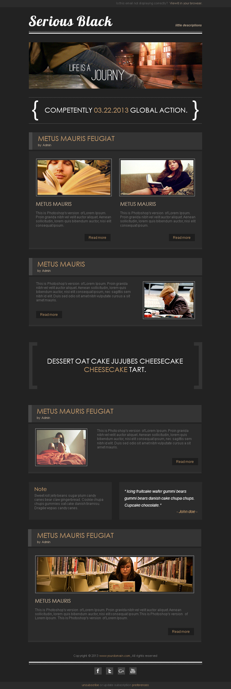 Angelos - Responsive Email Template