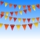 Celebration Flags on Rope - GraphicRiver Item for Sale