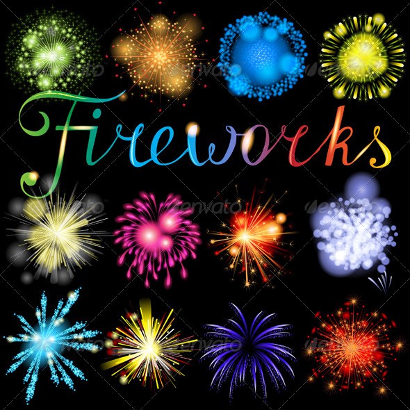 GraphicRiver Fireworks 4732598