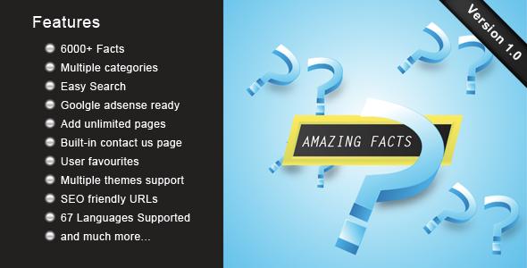 CodeCanyon Amazing Facts 4732861