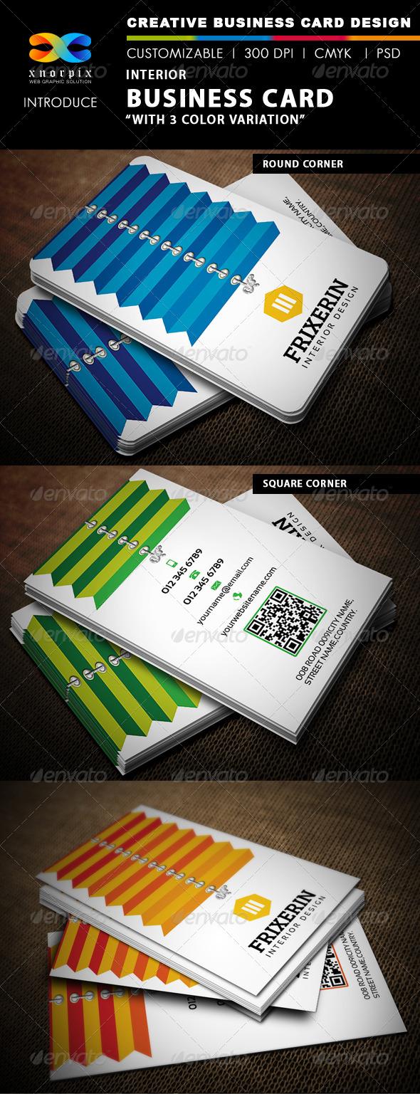 GraphicRiver Interior Business Card 4733108