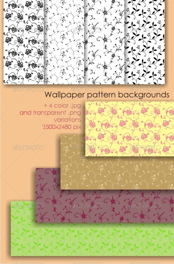 GraphicRiver Wallpaper Background Pattern 4274010