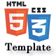 HTML5CSS3Template