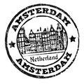 Amsterdam stamp - PhotoDune Item for Sale