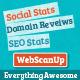 WebScanUP Domain Pengulas & SEO Stats Checker - WorldWideScripts.net Barang Dijual