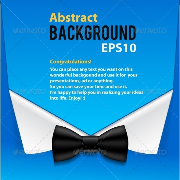 GraphicRiver Abstract Official Paper Elements Blue Background 4734180