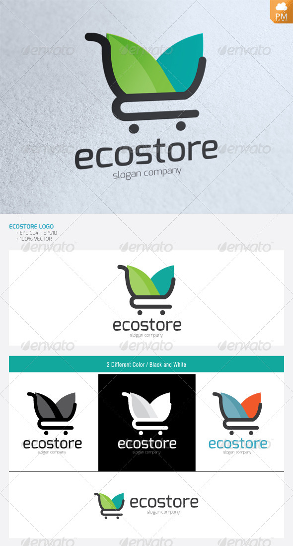 GraphicRiver Eco Store 4734516