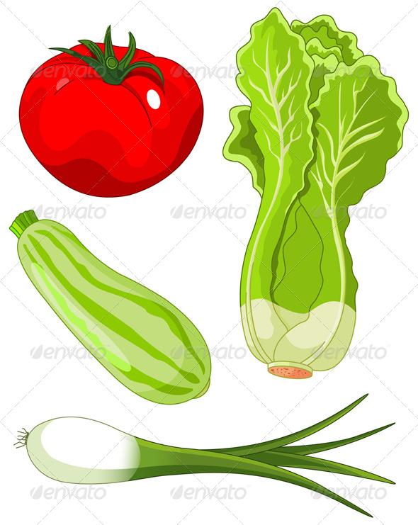 GraphicRiver Set of Vegetables 4734567