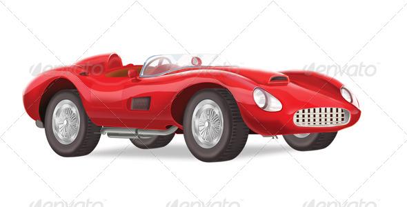 GraphicRiver Ferrari Illustration 4734579