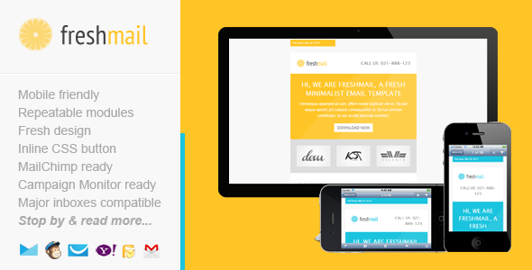 ThemeForest Freshmail Responsive Email Template 4734953