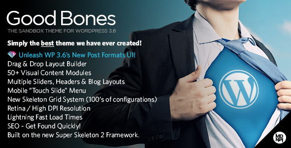 Good Bones: The WP SandBox Theme