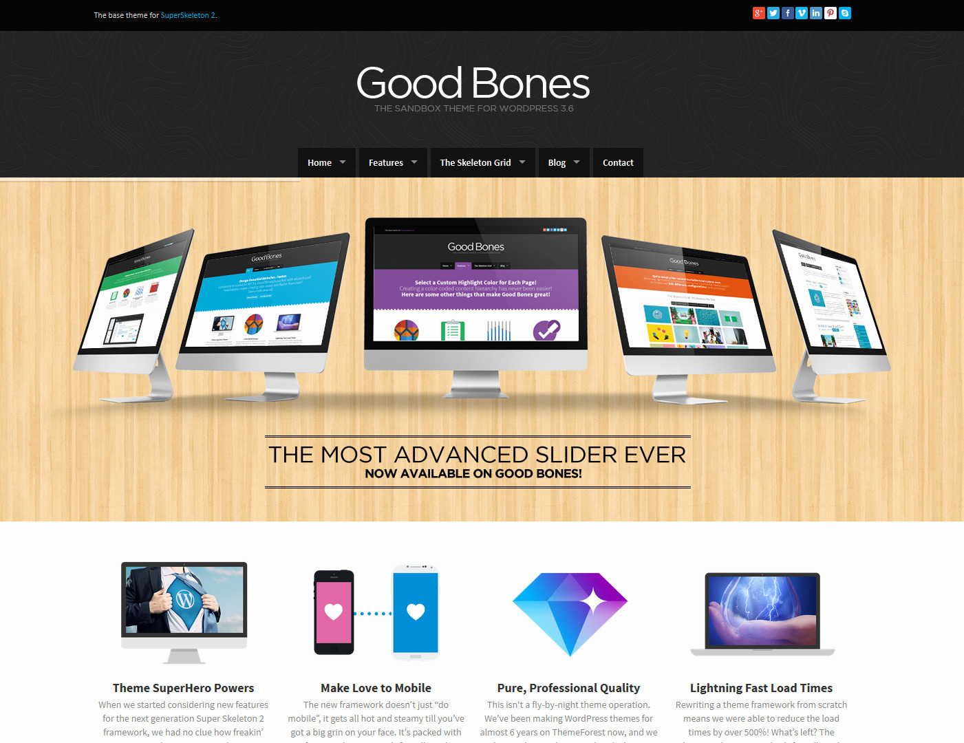 Good Bones: The WP SandBox Theme