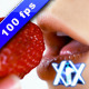 Eating A Strawberry - VideoHive Item for Sale