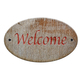 Wooden sign of welcome. - PhotoDune Item for Sale