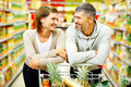 Couple in supermarket - PhotoDune Item for Sale