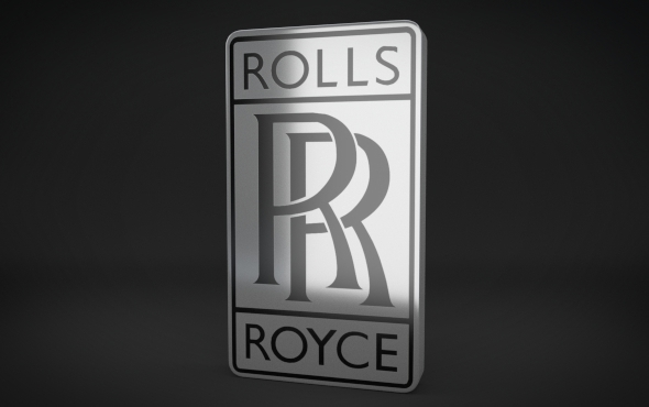 rolls royce logo by niosdark 3docean. Black Bedroom Furniture Sets. Home Design Ideas