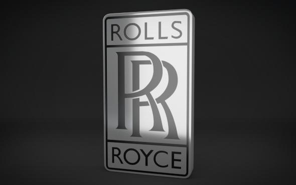 3DOcean Rolls Royce Logo 4736866