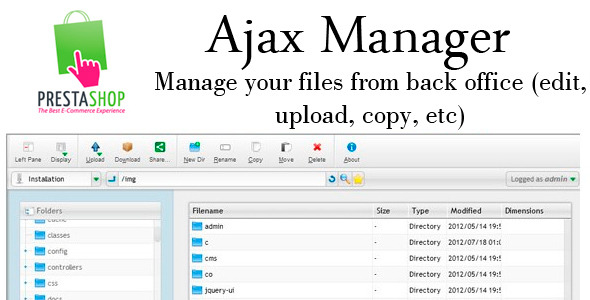 CodeCanyon Prestashop AjaxManager 4737186