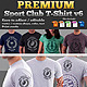 Premium Sport Club T-Shirt V6 Template - GraphicRiver Item for Sale