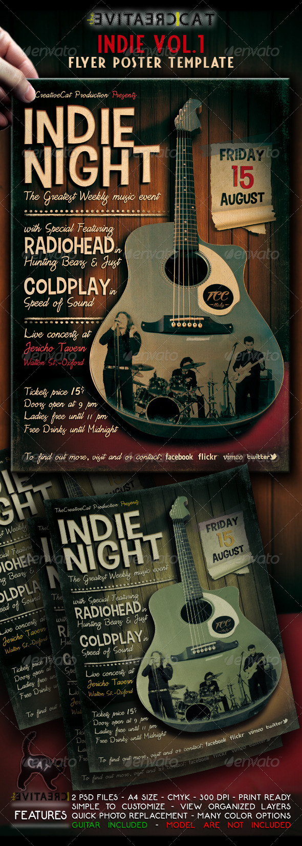 GraphicRiver Indie Flyer Poster VOL.1 4737338