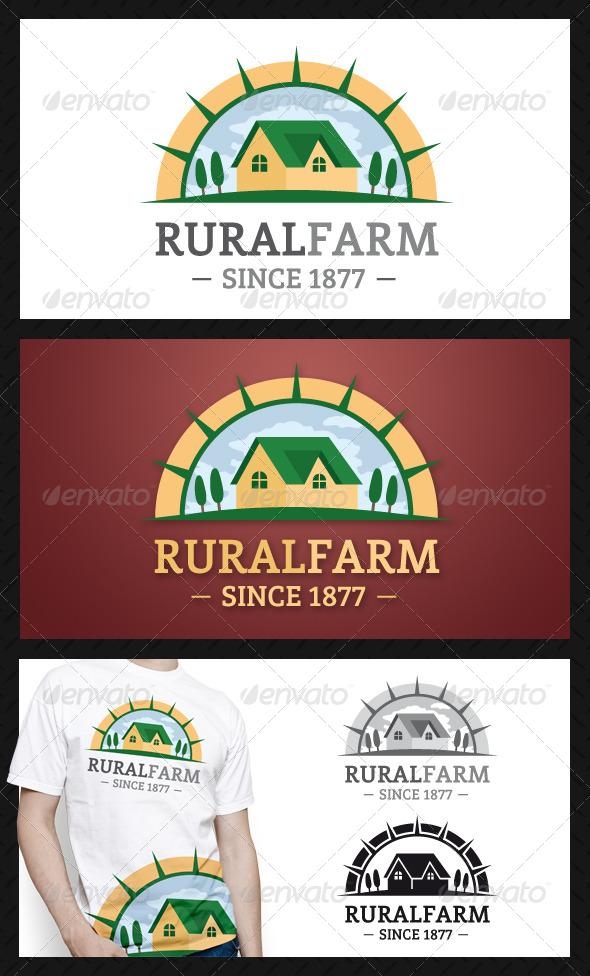 GraphicRiver Rural Farm Logo Template 4623120