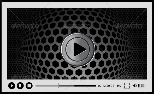 GraphicRiver Video Player for Web 4737695