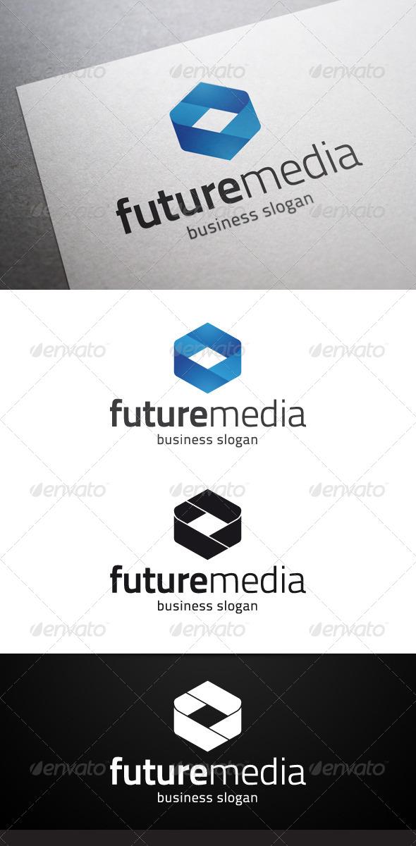 GraphicRiver Future Media Logo 4737726
