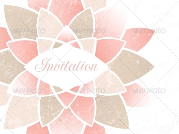 GraphicRiver Wedding Invitation 4737940