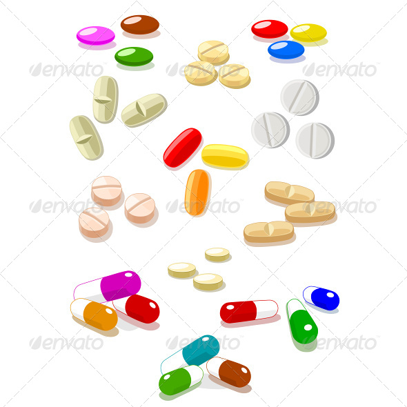 GraphicRiver Vector Pills 4737980